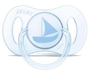 Philips Avent Smoczek Ortodontyczny 0-2m+ 2szt Niebieski - 329080 - zdjęcie 3