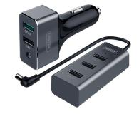 Unitek Ładowarka samochodowa 5 x USB Dwustrefowa QC 3.0 - 379854 - zdjęcie 1