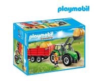 PLAYMOBIL Duży traktor z przyczepą - 301198 - zdjęcie 1
