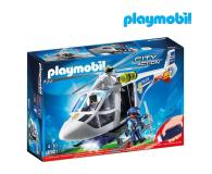 PLAYMOBIL Helikopter policyjny z reflektorem LED - 344866 - zdjęcie 1