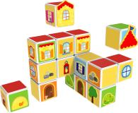 TM Toys MAGICUBE Zestaw zamki i domki - 382204 - zdjęcie 3