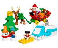 LEGO DUPLO Zimowe ferie Świętego Mikołaja - 383989 - zdjęcie 2