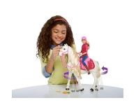 Barbie Interaktywny Koń z Lalką - 384900 - zdjęcie 3