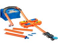 Hot Wheels Zestaw Kaskaderskie pętle pomarańczowe - 404644 - zdjęcie 2