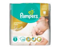 Pampers Premium Care 1 Newborn 2-5kg 88szt - 307909 - zdjęcie 1