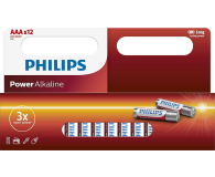 Philips Power Alkaline AAA 12szt