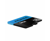 ADATA 64GB microSDXC Premier 100/25 MB/s A1 V10 - 401958 - zdjęcie 2
