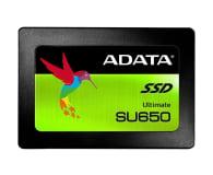 "ADATA 240GB 2,5"" SATA SSD Ultimate SU650 - 405654 - zdjęcie 1"