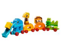 LEGO DUPLO Pociąg ze zwierzątkami - 395109 - zdjęcie 2