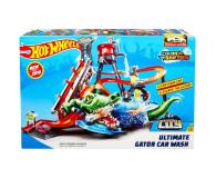 Hot Wheels City Mega Myjnia Atak Krokodyla - 456084 - zdjęcie 4