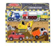 Melissa & Doug Puzzle drewniane Pojazdy budowlane - 456226 - zdjęcie 1