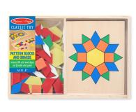Melissa & Doug Drewniana układanka geometryczna  - 457033 - zdjęcie 1