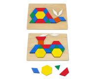 Melissa & Doug Drewniana układanka geometryczna  - 457033 - zdjęcie 3