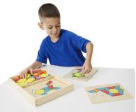 Melissa & Doug Drewniana układanka geometryczna  - 457033 - zdjęcie 4