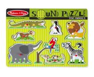 Melissa & Doug Puzzle ZOO zwierzątka dźwiękowe  - 456826 - zdjęcie 1