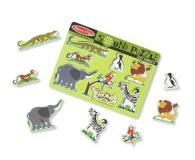 Melissa & Doug Puzzle ZOO zwierzątka dźwiękowe  - 456826 - zdjęcie 2