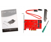 i-tec Adapter PCI-E SATA 2x M.2 Card PCI-E/SATA - 378032 - zdjęcie 4