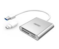 Unitek Uniwersalny Czytnik Kart USB 3.0 - Typ-C - 460026 - zdjęcie 1