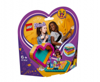 LEGO Friends Pudełko w kształcie serca Andrei - 465056 - zdjęcie 1