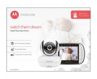 Motorola Niania Elektroniczna z kamerą monitor 3.5 MBP36S - 438973 - zdjęcie 3
