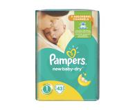 Pampers New Baby Dry 1 Newborn 2-5kg 43szt  - 461166 - zdjęcie 1