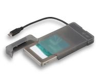 """i-tec Obudowa do dysku 2.5"""" MySafe (USB-C, czarny) - 460614 - zdjęcie 1"""