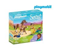 PLAYMOBIL Pru z koniem i źrebakiem - 467362 - zdjęcie 1