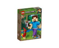 LEGO Minecraft BigFig Steve z papugą - 467541 - zdjęcie 1