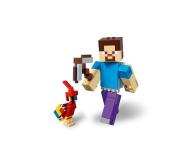 LEGO Minecraft BigFig Steve z papugą - 467541 - zdjęcie 3