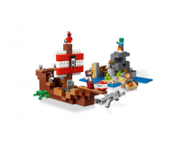 LEGO Minecraft Przygoda na statku pirackim - 467546 - zdjęcie 3