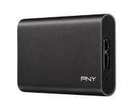 PNY Elite Portable SSD 960GB USB 3.2 Gen. 1 Czarny - 490113 - zdjęcie 2