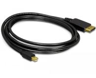 Delock Kabel Mini DisplayPort - DisplayPort 4K 2m - 468575 - zdjęcie 2