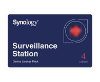 Synology Licencja Camera License Pack (4 dodatkowe kamery) - 223020 - zdjęcie 1
