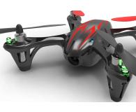 Hubsan X4 CAM HD H107C czarno-czerwony - 464523 - zdjęcie 6