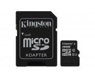Kingston 16GB microSDHC Canvas Select 80MB/s C10 UHS-I - 408957 - zdjęcie 2