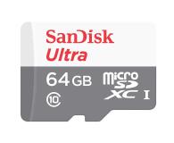 SanDisk 64GB microSDXC Ultra 80MB/s C10 UHS-I  - 409231 - zdjęcie 1