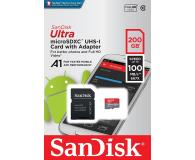 SanDisk 200GB microSDXC Ultra 100MB/s A1 C10 UHS-I U1  - 409219 - zdjęcie 2