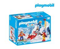 PLAYMOBIL Bitwa na śnieżki - 405542 - zdjęcie 1