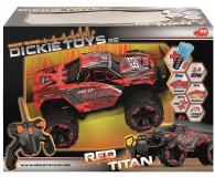 Dickie Toys Samochód Terenowy Red Titan - 407682 - zdjęcie 3