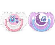 Philips Avent Smoczek Ortodontyczny 6-18m+ 2szt Różowy - 409852 - zdjęcie 1