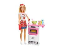 Barbie Domowe Wypieki Zestaw z lalką - 409719 - zdjęcie 1