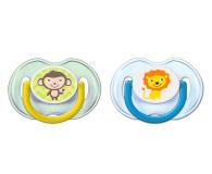 Philips Avent Smoczek Ortodontyczny 0-6m+ 2szt Niebieski - 410374 - zdjęcie 1