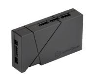 SilverStone RGB-LED-Hub + 2xLED czarny - 406463 - zdjęcie 3