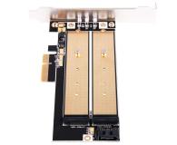 SilverStone PCIe x4 - 2xM.2 - 406456 - zdjęcie 2