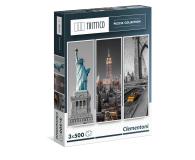 Clementoni Puzzle Trittico New York 3x500 el. - 417017 - zdjęcie 1