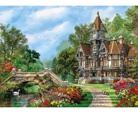 Clementoni Puzzle HQ Old Waterway Cottage - 417070 - zdjęcie 2