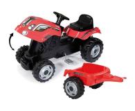 Smoby Traktor XL czerwony - 415932 - zdjęcie 3