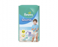 Pampers Do Pływania Splashers 5 Junior 14kg+ 10szt - 421013 - zdjęcie 1