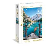 Clementoni Puzzle HQ  Braies lake - 417080 - zdjęcie 1