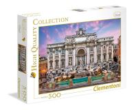 Clementoni Puzzle HQ Trevi Fountain - 417076 - zdjęcie 1